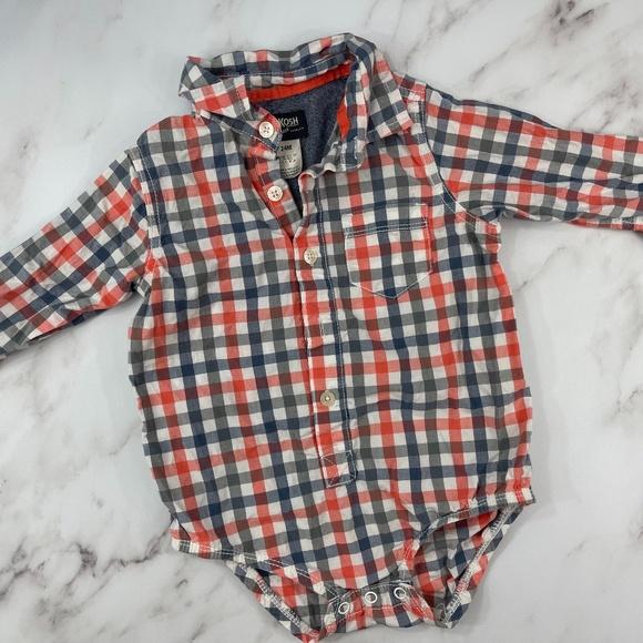 Toddler Boy Osh Kosh B'gosh Button Down Bodysuit